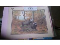 Bundle of prints to make 3D pictures or decoupage