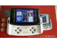 MP4 GAME PORTABLE MULTIMEDIA PLAYER IN ORIGINAL BOX WITH ACCESSORIES