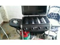 Gas 4 burner barbaque