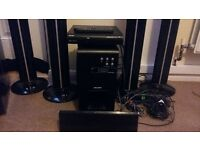 Bush home theatre cinema system with DVD player