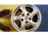 Original Porsche Boxter Twist Alloys x 4