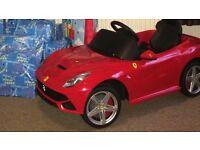 12v red Ferrari car