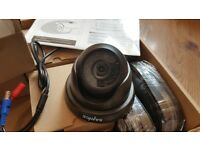 New - 4 x Sannce CCTV dome cameras 720p HD (TVI)