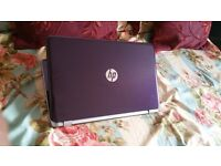 HP Pavilion 15.6 inch Touchscreen Notebook, Purple color, MS Office 2013, Battery life 7 hours