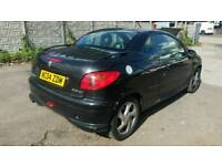 2004 PEUGEOT 206 CONVERTIBLE 1.6 PETROL , , GOOD RUNNER , , CHEAP CAR