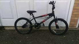 Black BMX Bike Muddyfox