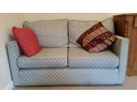 2 SEATER FABRIC SOFA ** BARGAIN ***