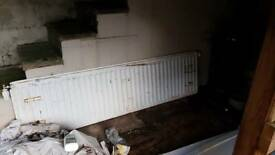 Free radiator - scrap metal