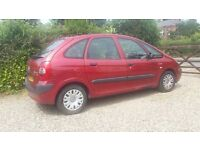 *REDUCED BARGAIN*2004 Citroen Picasso Very Reliable and cheap car, no issues/lights MOT 6 months