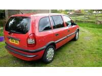 Vauxhall Zafira 1.6 Life 2004 - long Mot - £795 ONO