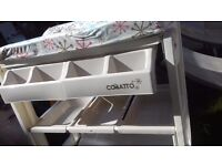 Used Cosatto changing table