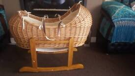 Moses Wicker Basket
