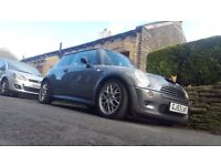 Mini cooper works 1.6 supercharged with stage 1 certificate tuning.