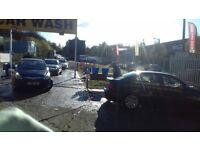 Car wash/valeting centre for sale