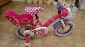 Minnie Mouse Childs Bike (Aged 3 - 5)