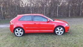 2007 Audi A3 2.0 TDI S Line 170 Misano Red *3 Owners* PX Considered&