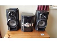 Panasonic 5 disc changer stereo