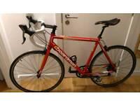 Boardman 57.5cm aluminium and carbon road bike