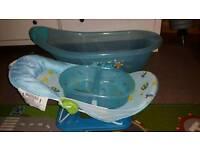 Baby bath basins