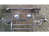 Chrome Bumpers / Light Bars