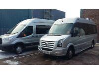 Minibus with Driver Minibus Hire Birmingham
