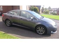 2014 (Dec) Toyota Avensis D-4D Icon Low miles. Exc Cond. SATNAV/Bluetooth/Cruise Control. Alloys.