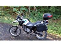 bmw g 650 gs sertao 4000 miles full mot