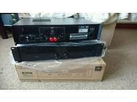 New unused power amplifier amp