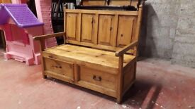 Mexican Pine Bench