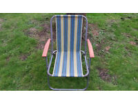 Vintage Camping Chair