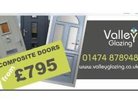 Valley Glazing - Double Glazed UPVC Aluminium French Windows & Composite Doors Installation