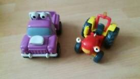 Tractor Tom with lights & sounds phrases & buzz pick up vehicle