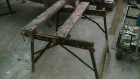 Large Folding work mate work bench