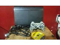Ps3 slim, 500GB, one controller, one cd game, all wires