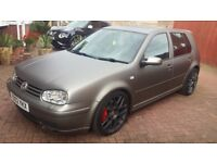 VOLKSWAGEN GOLF 1.9 GT TDI PD150 Matte Grey, loaded with optional extras