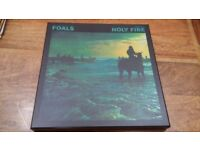 Foals Holy Fire vinyl boxset numbered by band