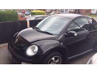 Volkswagen Beetle 2003 Black 1.4l