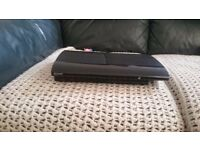 Sony ps3 super slim + games + logitech driving force gt