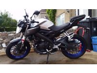 YAMAHA MT-125/ABS 2015