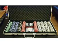 Full Brand New Poker Set