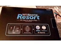 Wii Sports Resort Pack - Black - Console, fit board, 8 games,