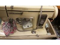 Janome Newhome Sewing Machine with extras