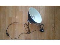 REPTILE HEAT LAMP WITH CLAMP MEDIUM