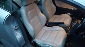 Full mk1 Audi TT coupe heated ivory leather(can also fit cabrio....mk2 golf, mk3 golf, corsa, fabia)
