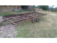 17ft trailer project for sale