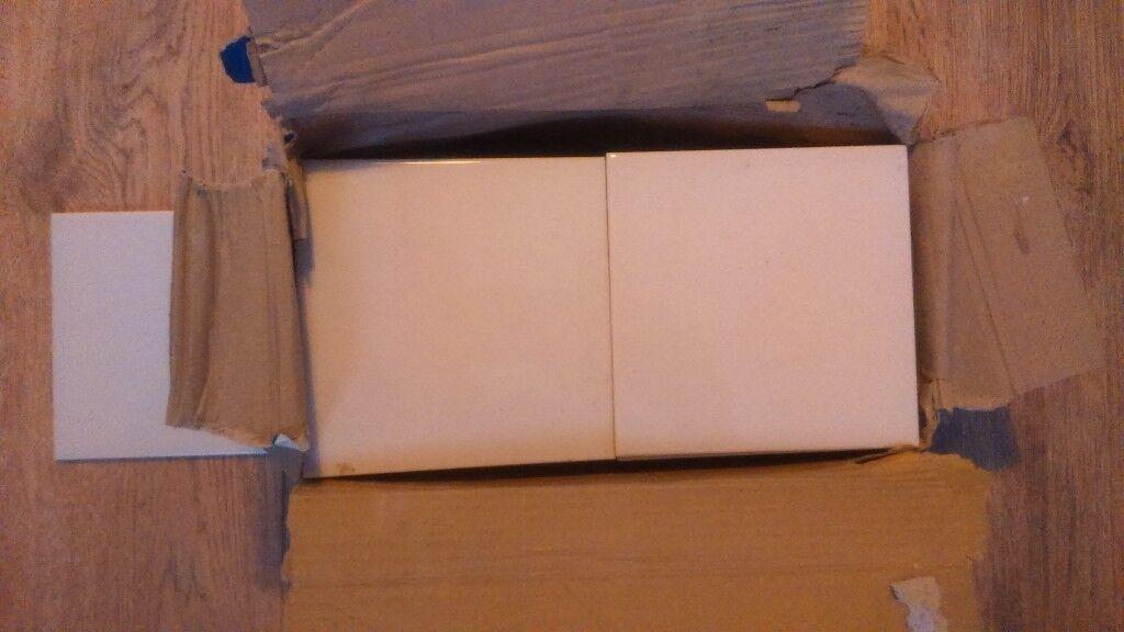 Box of ceramic tiles 150x150mm - £10
