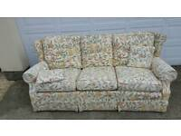 William Morris fruits 3 seater sofa
