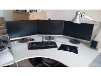 TWO AOC i2369Vm 23-inch IPS full HD monitor (11 months PC World warranty remaining)