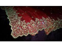 wedding dress lengha Asian suit salwar kameez size 10 or 12