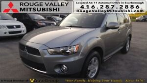 2013 Mitsubishi Outlander LS AWD - SINGLE OWNER!! NO ACCIDENT!!